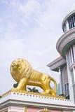 roman staty för lion Royaltyfria Foton