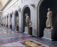 roman statyer vatican för museum Royaltyfri Fotografi