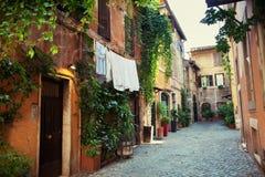 Roman street Stock Images