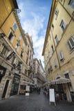 Roman Street Scene Stockbilder
