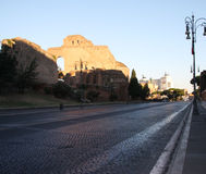 Roman Street View Royalty Free Stock Image