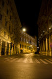 Roman Streets at night Royalty Free Stock Photography