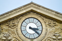 Roman style clock Stock Image