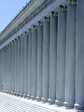 Roman style columns Royalty Free Stock Image