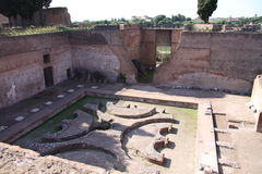 Roman Sunken Garden Royalty Free Stock Images