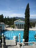 Roman Swimming Pool. A beautiful swimming pool at Hearst Castle in California Royalty Free Stock Photography