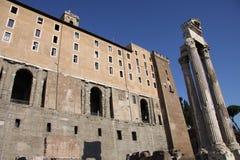 Roman Tabularium Stock Images