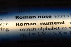 roman tal royaltyfri bild