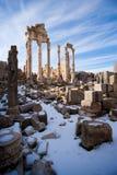 roman tempel Fotografering för Bildbyråer