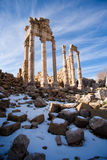 roman tempel arkivbilder