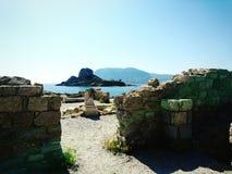 Roman tempel Stock Fotografie