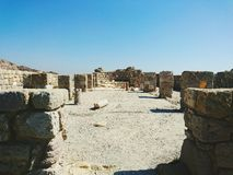 Roman tempel Royalty-vrije Stock Foto