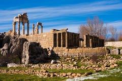 Roman Temple Stock Photo