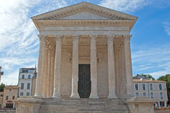 Roman temple Stock Images
