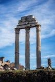 Roman Temple 1 Royaltyfria Foton
