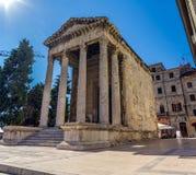 Roman temple Stock Images
