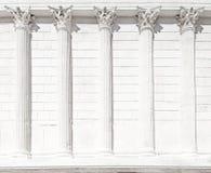 Roman temple column. Nimes, France. Royalty Free Stock Image