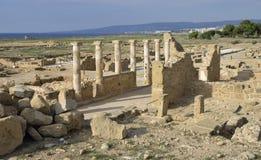 Roman Temple Columns Stock Photography