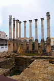 Roman temple in Cordoba Stock Images