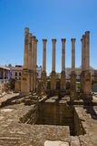 Roman temple, Cordoba, Spain Stock Images
