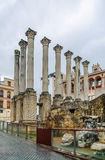 Roman temple of Cordoba, Spain Stock Photography