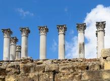 Roman temple of Cordoba Royalty Free Stock Images