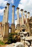 Roman Temple in Cordoba, Spanje Royalty-vrije Stock Fotografie