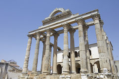 Roman temple of Diana Royalty Free Stock Photos