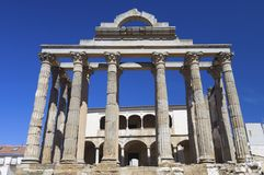 Roman temple of Diana Royalty Free Stock Photo