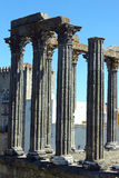 Roman temple, Evora, Portugal Stock Photos