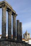 Roman Temple - Evora - Portugal Royalty Free Stock Image