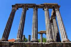 Roman temple, Evora, Portugal Stock Photography