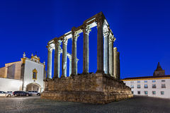 Roman Temple, Evora Royalty Free Stock Images