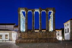 Roman Temple, Evora Royalty Free Stock Images