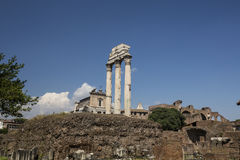 Roman Temple on a Hill Stock Photography