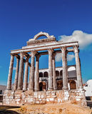 Roman temple in Merida Stock Photography