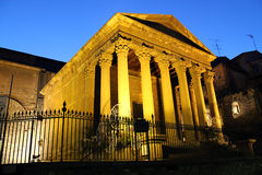 Roman temple of Vic Royalty Free Stock Photo