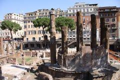 Roman Temples Fotografering för Bildbyråer