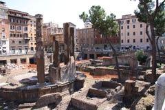 Roman Temples Imagenes de archivo