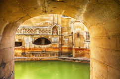 Roman terms in Bath Royalty Free Stock Photo