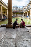 Roman terms in Bath Stock Images