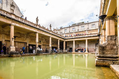 Roman terms in Bath Royalty Free Stock Photography
