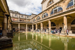 Roman terms in Bath Stock Photos
