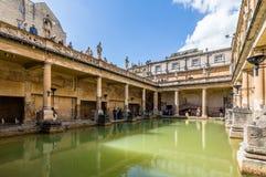 Roman terms in Bath Stock Image