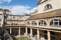 Roman terms in Bath Stock Photos