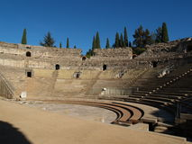 The Roman Theater royalty free stock photo