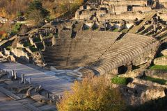 Roman theater Stock Afbeeldingen