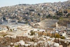 Roman theater in Amman, Jordan Royalty Free Stock Image