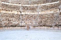 Roman theater. In Amman in Jordan,  on a sunny day Royalty Free Stock Photos