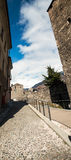 Roman theater, Aosta, Valle d'Aosta, Italia Royalty Free Stock Image